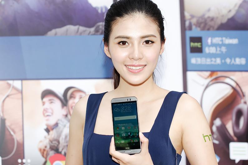 處理器、相機升級之外更加入指紋辨識的HTC One M9+