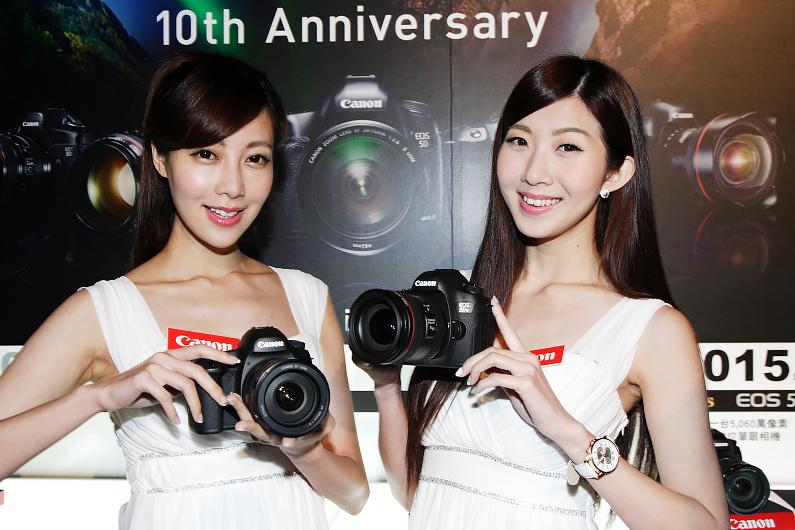 擁有五千萬像素的Canon EOS 5DS 及5DS R正式開賣