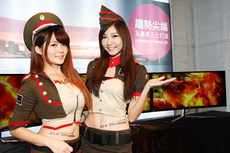 LG推出針對遊戲及曲面的 21:9超寬比例顯示器