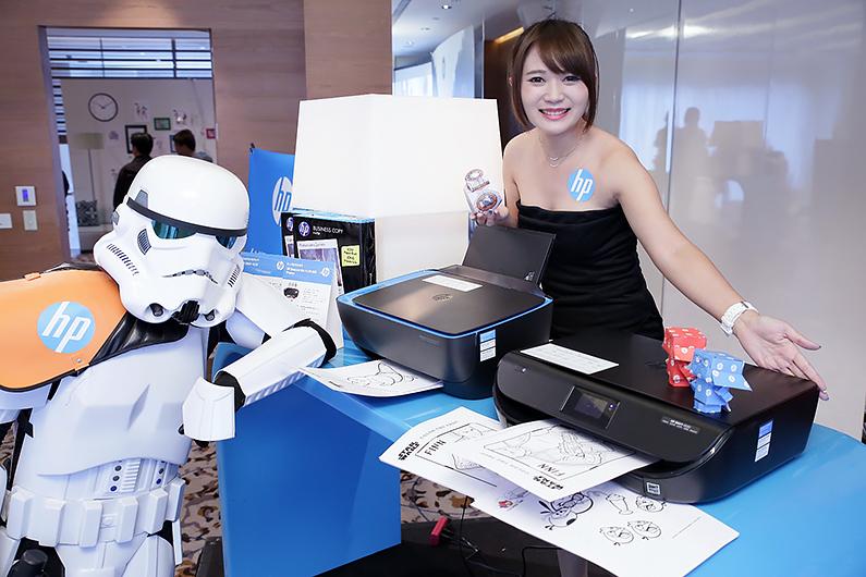 HP推出超低列印成本並具行動列印噴墨多功能複合機