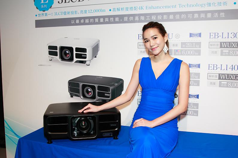 Epson推出高階電射光源投影機期待取得市占第一