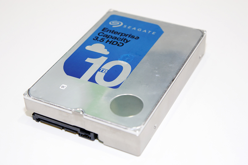 Seagate於台北國際安全博覽會中展出10TB企業級氦氣硬碟