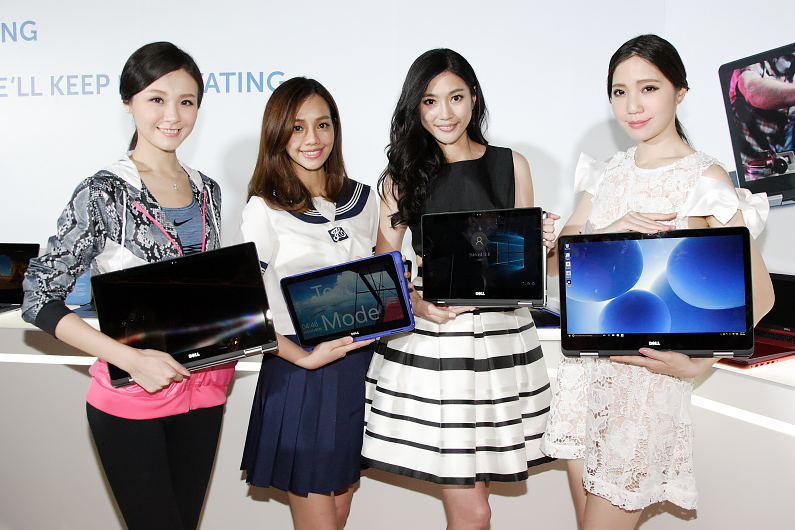 Dell推出最大為17吋的Inspiron 7000系列二合一筆記型電腦