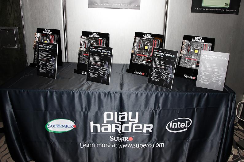Supermicro用伺服器基因為熱血電競玩家們推出多款電競主機板