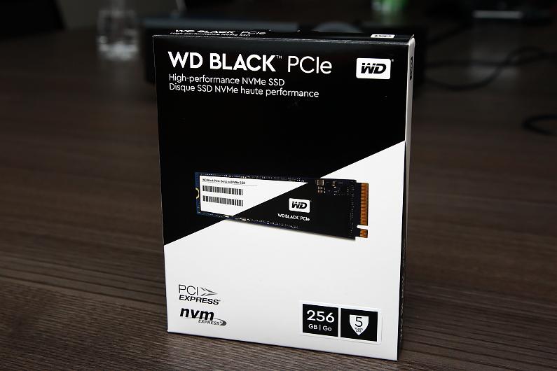 WD為玩家們推出高效能NVMe介面的Black SSD