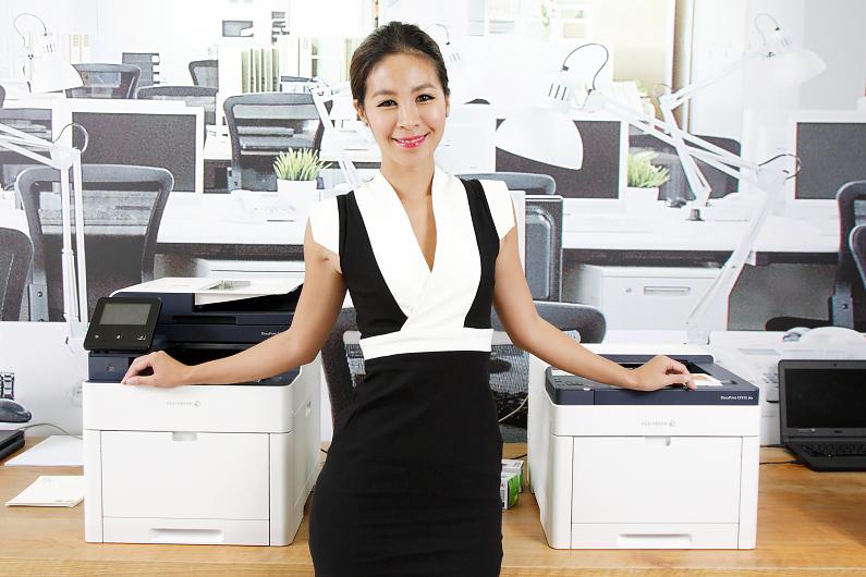 富士全錄為中小企業推出高效率的DocuPrint C315系列彩色印表機