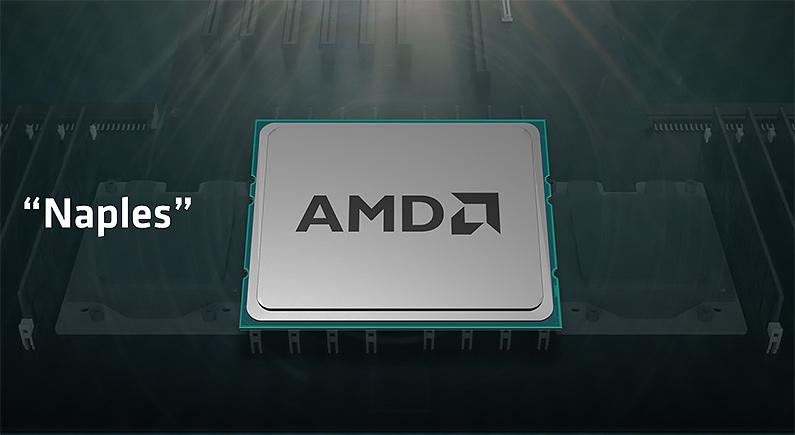 AMD 揭露32核心「Naples」伺服器處理器部分設計
