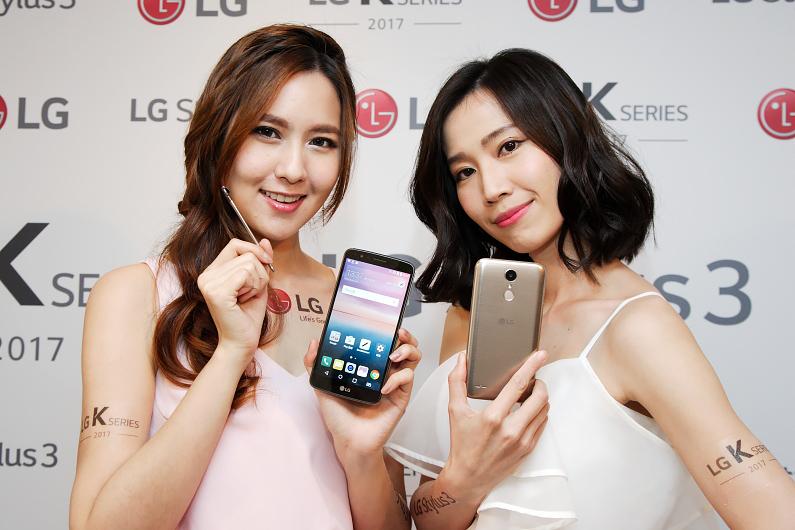 LG推出價格實惠的Stylus 3與三款 K系列新手機