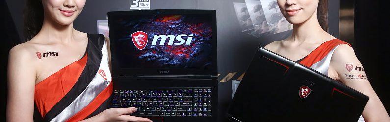 微星公開三款新一代高性能電競筆電