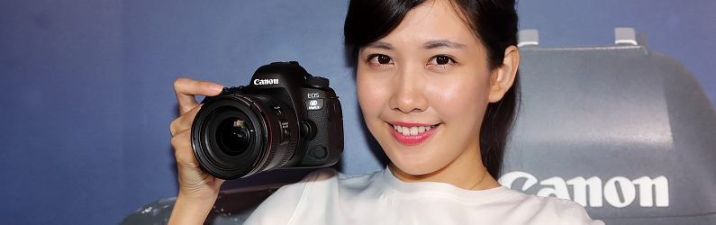 對焦系統大幅提升的Canon EOS 6D Mark II 於8月1日上市