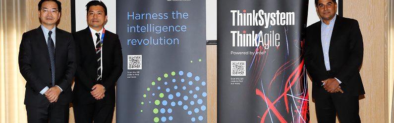 Lenovo全新ThinkSystem系列伺服器高效能登場