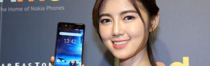 HMD在臺灣推出價位犀利的旗艦手機 NOKIA 8