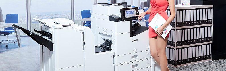 Epson宣布將用噴墨取代雷射並推出高達每分鐘 100張的商用機種