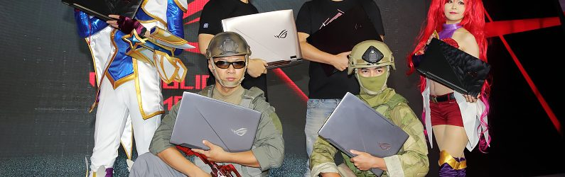 華碩三款 ROG 電競筆電可滿足不同遊戲類型需求