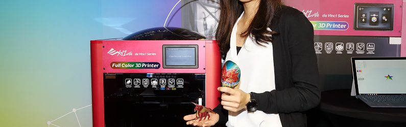 三緯推出全球首款結噴墨技術的da Vinci Color全彩3D印表機