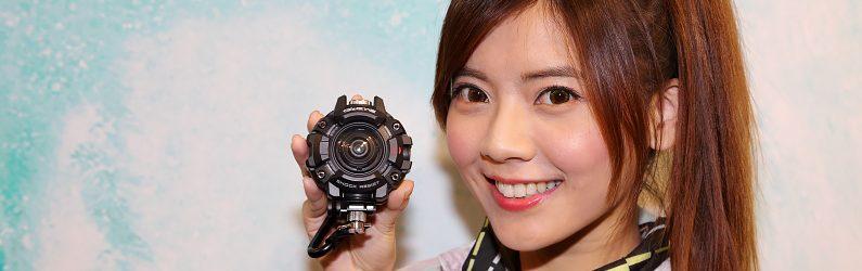 CASIO推出具強悍保護性的運動攝影機 G'z EYE