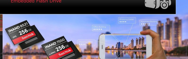 Western Digital為未來行動裝置推出更快速的iNAND嵌入式快閃記憶體系列